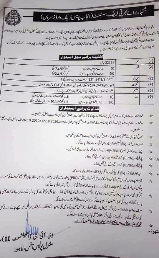 Traffic warden jobs 2020