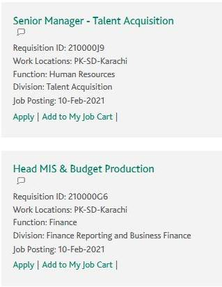 Habib Bank Limited Jobs 2021