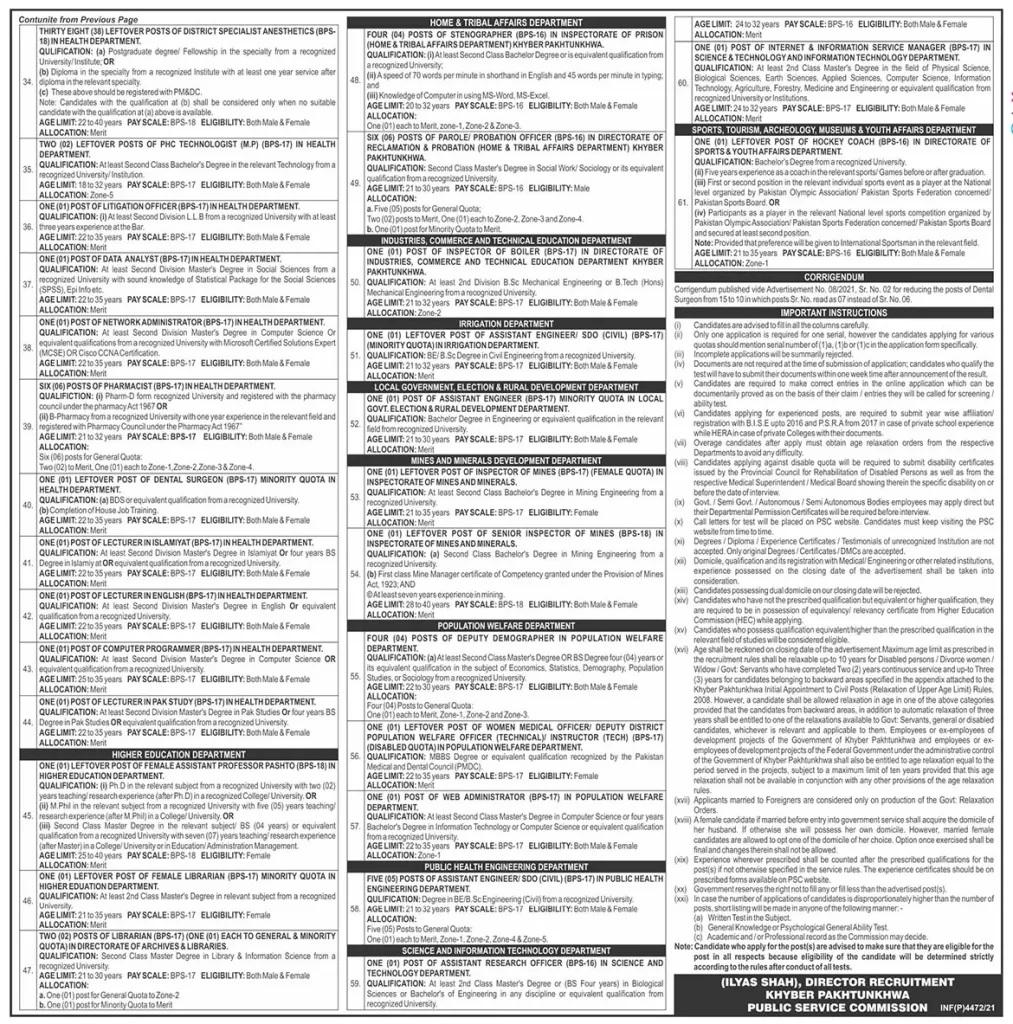 KPPSC Educators Jobs 2021